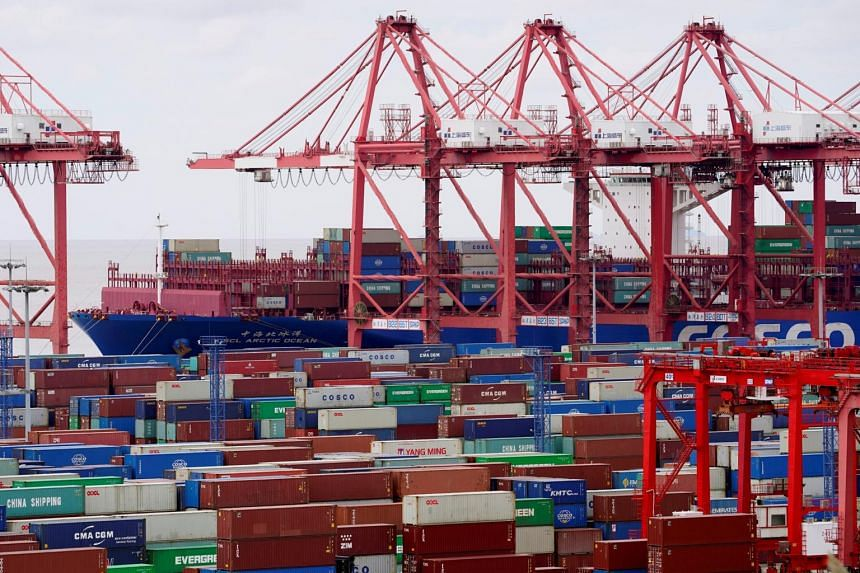 Global trade in goods were up about 8 per cent in the fourth quarter compared with the third.
