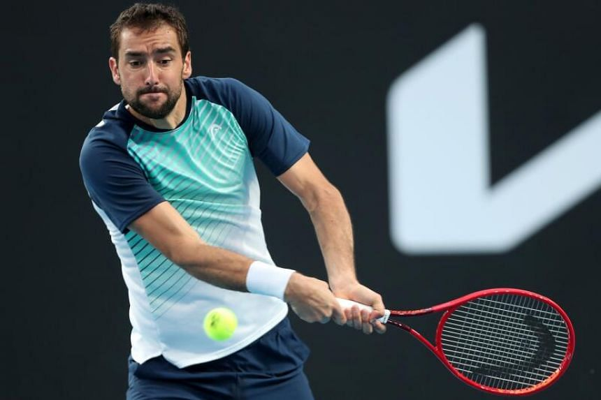 Players competing in the Singapore Tennis Open include 2014 US Open champion Marin Cilic.