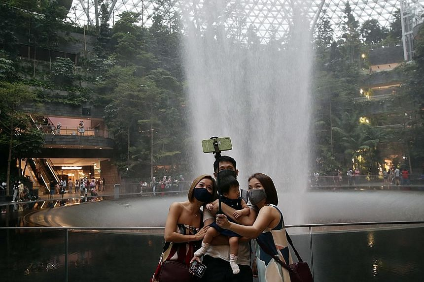 With River Hongbao 2021 being held at Gardens by the Bay, it has doubled its front-line and security staff at ticketed attractions. Visitors looking to spend their day on one of Sentosa's beaches this weekend will still need to make online reservatio