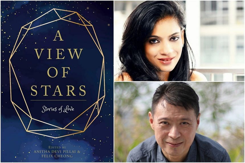 Editors Anitha Devi Pillai and Felix Cheong both contributed stories from their own families in the anthology A View Of Stars.