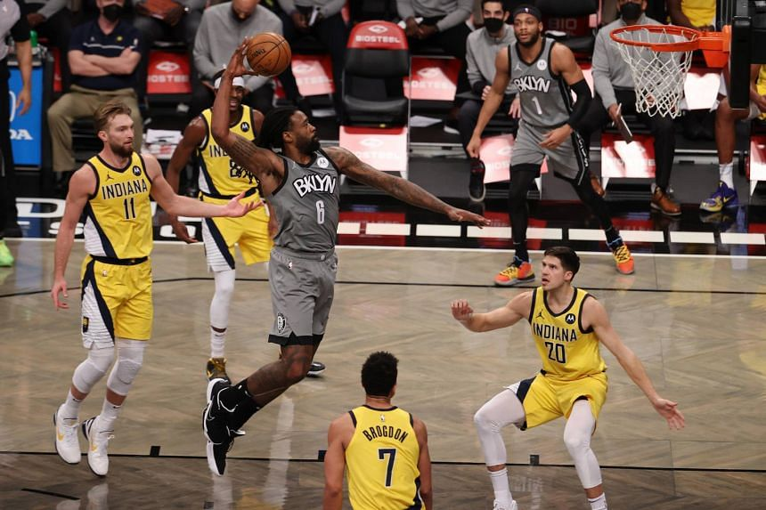 Various Chinese cultural elements were incorporated in the NBA game between Brooklyn Nets and visiting Indiana Pacers.