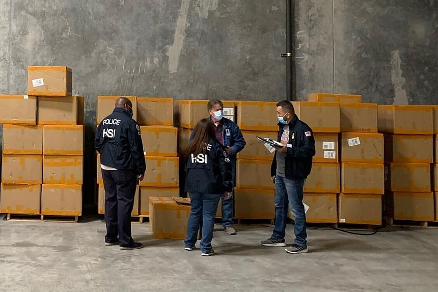 Over 10 million counterfeit respirators and hundreds of shipments of prohibited drugs and medical supplies have been seized.