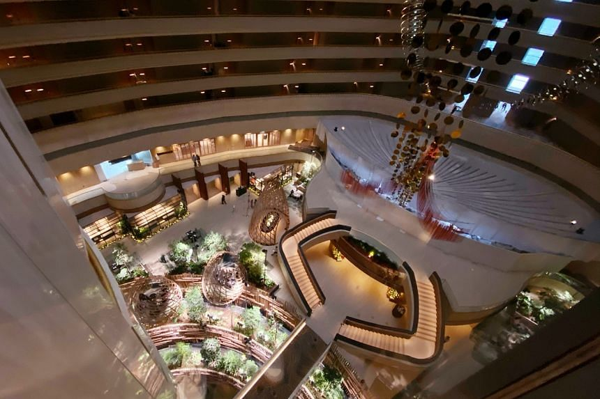The Parkroyal Collection Marina Bay hotel opened in December last year.