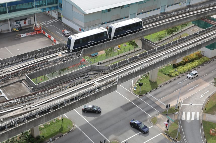The renewal works include the replacement of the Sengkang-Punggol LRT's power rail and power rail assemblies.