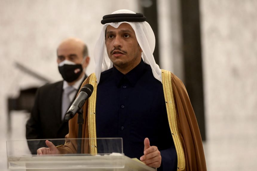 Qatari Foreign Minister Sheikh Mohammed bin Abdulrahman Al-Thani said communication was going on with both Iran and the US.