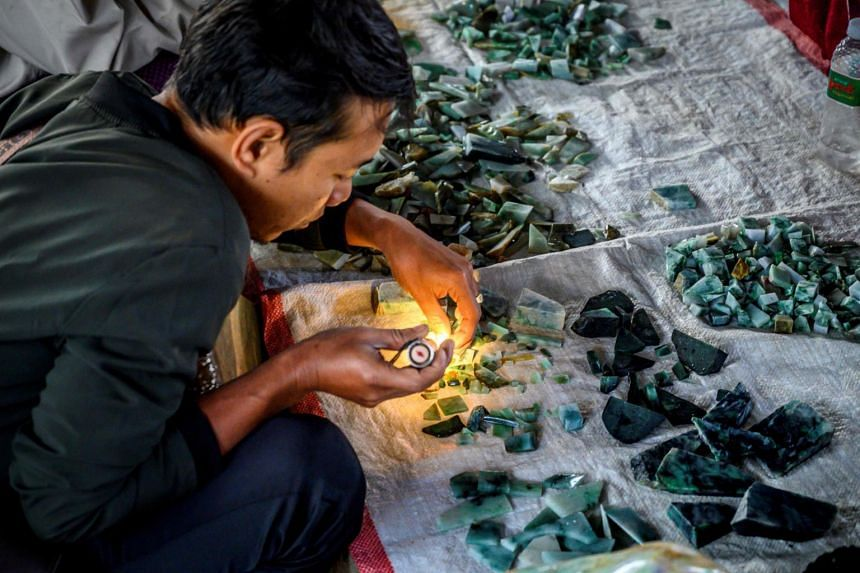 Although Myanmar is the world's largest producer of jade, only a very small part of the financial windfall ends up in state coffers.