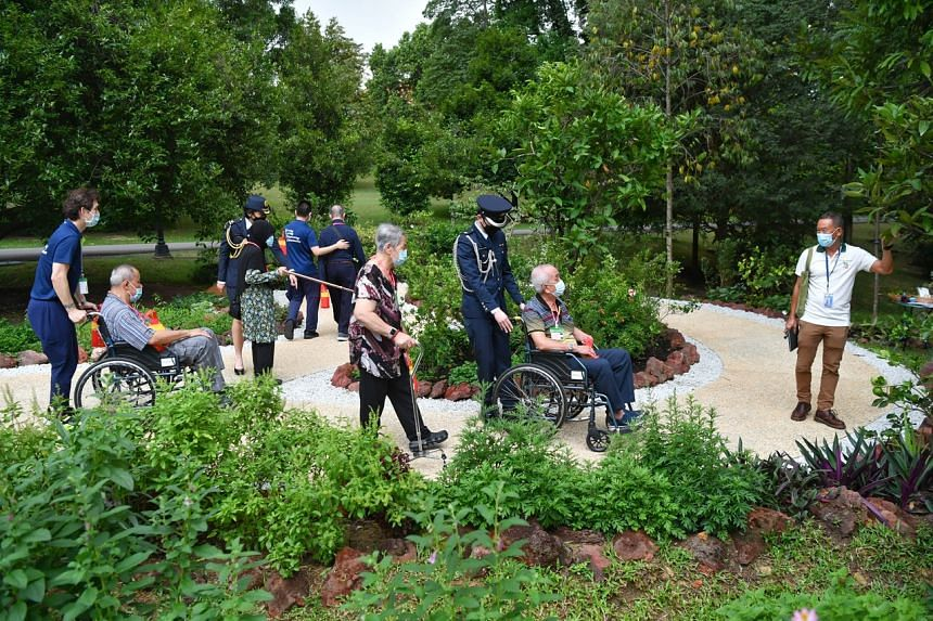 The new Inclusive Garden was mooted by President Halimah Yacob to make the Istana, the President's official residence, more accessible.