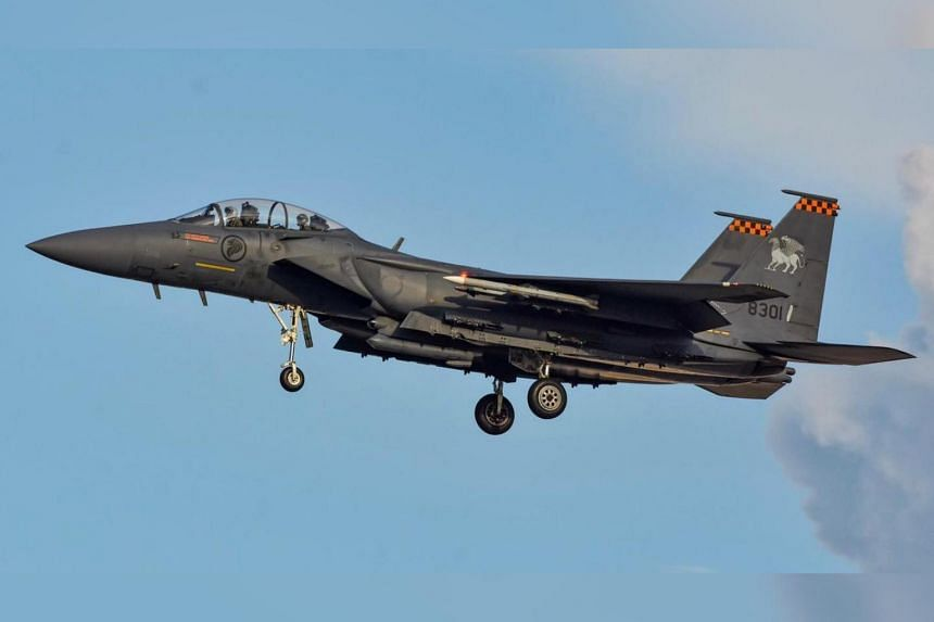 """""""Our Fighter aircraft were scrambled in response to a potential air threat,"""" said RSAF in a Facebook post."""