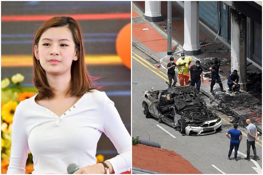 Ms Raybe Oh Siew Huey suffered severe burns on about 80 per cent of her body, and is now fighting for her life in the hospital.