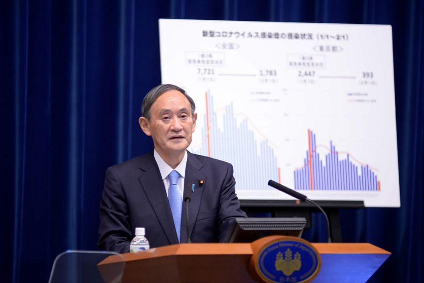 Yoshihide Suga's rating climbed 5 percentage points to 38 per cent compared with last month's survey of 33 per cent.