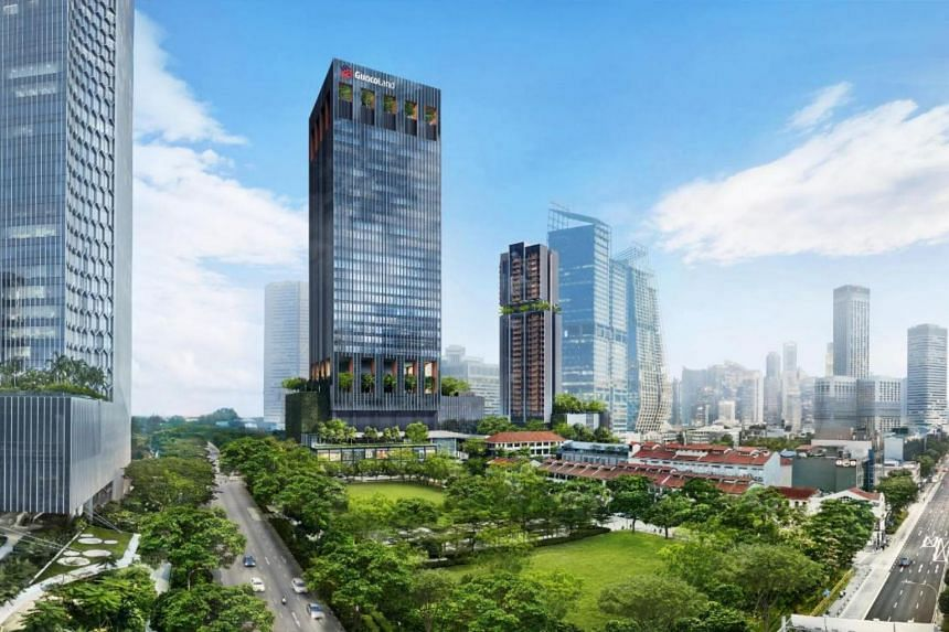 Guoco Midtown is a 3.2ha mixed-use mega development in Beach Road and Tan Quee Lan Street.