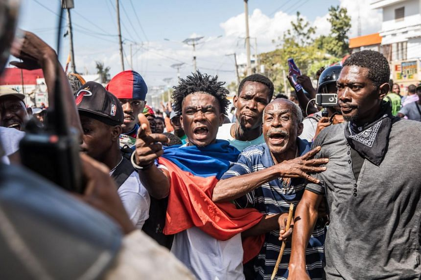 The protests were mostly peaceful, although a few clashes broke out between some demonstrators and police.