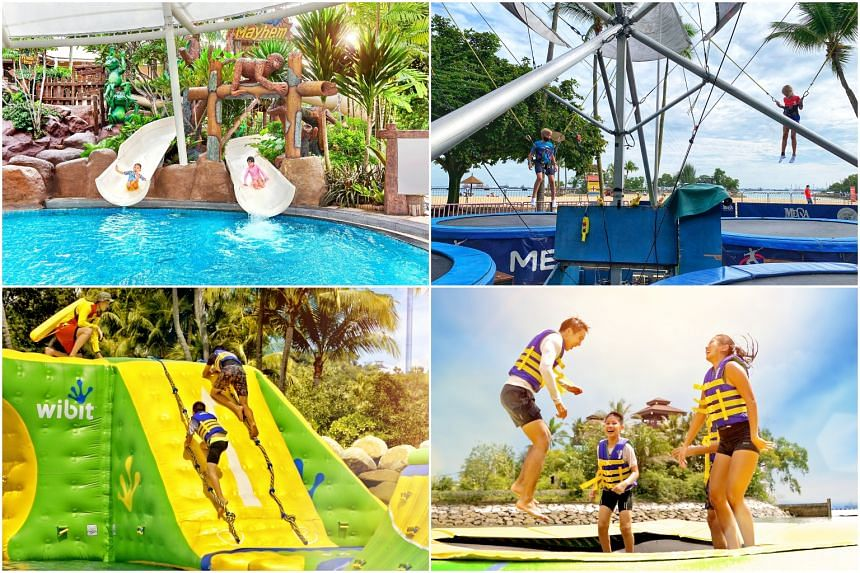 The staycation package is packed with goodies like tickets to kid-friendly attractions on Sentosa.