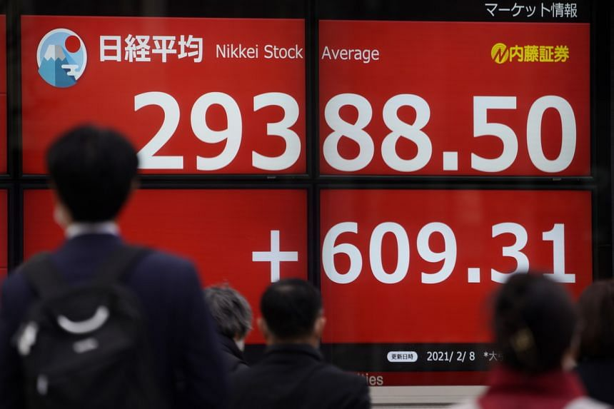 Japan's Nikkei climbed 1.3 per cent, despite data showing the country's recovery slowed in the fourth quarter.