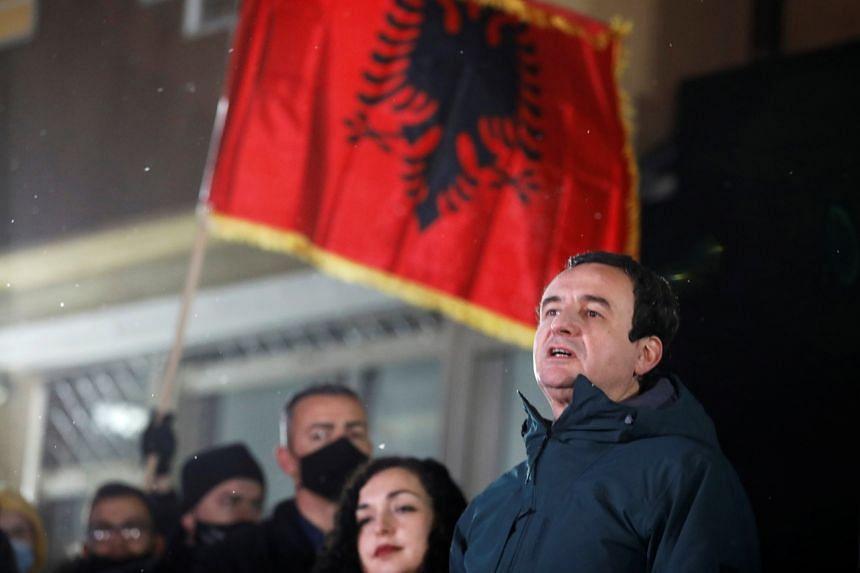 Kosovo's Vetevendosje party leader Albin Kurti has won support on pledges to fight widespread corruption.