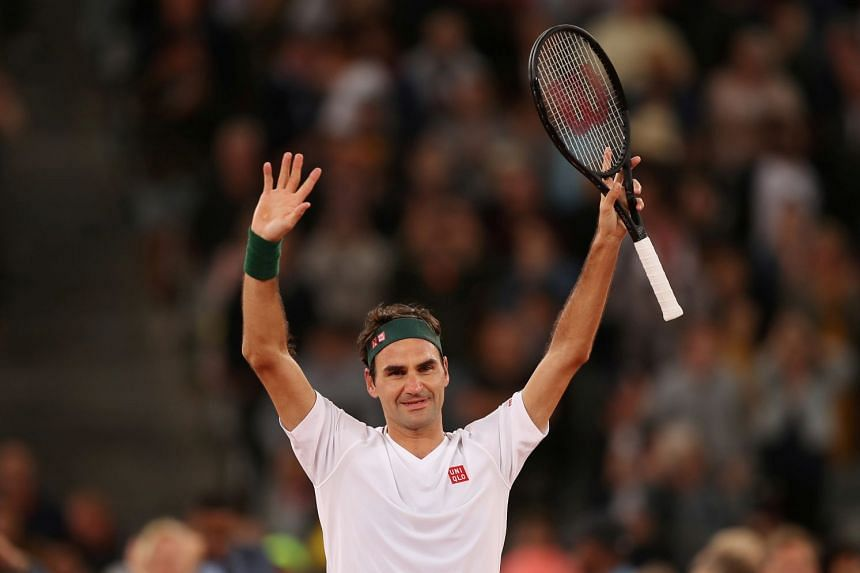 Roger Federer has been out of action for a year and targets a comeback at Doha in March.
