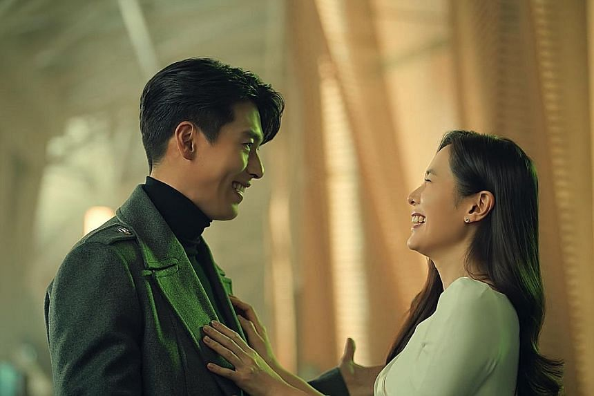 Dating K-pop stars Hyun Bin and Son Ye-jin appearing in a commercial by Philippine telco Smart Communications, timed for release on Valentine's Day on Sunday.