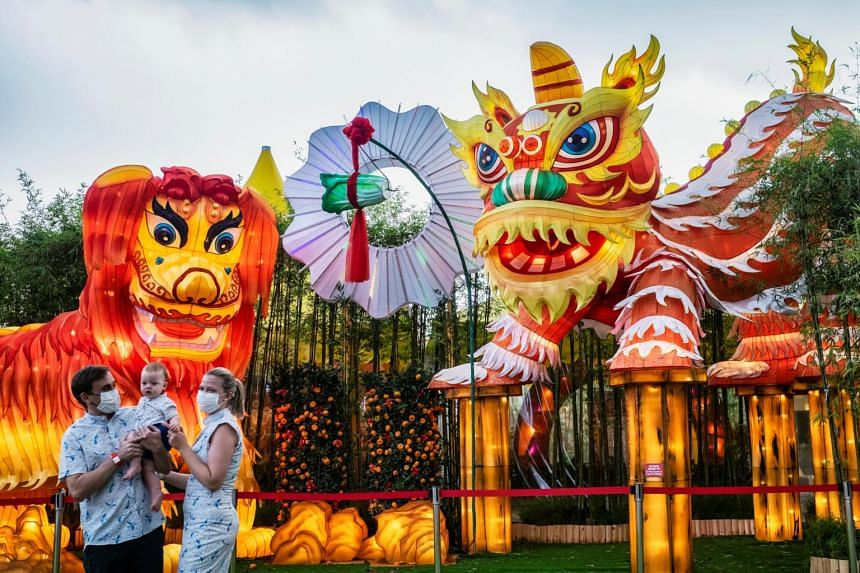 Around 23,000 people attended the River Hongbao 2021 event, held at Gardens by the Bay, over the first four days.