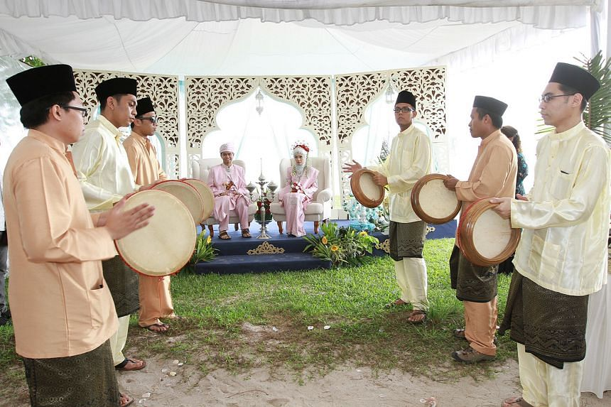 Making and repairing of Malay drums.