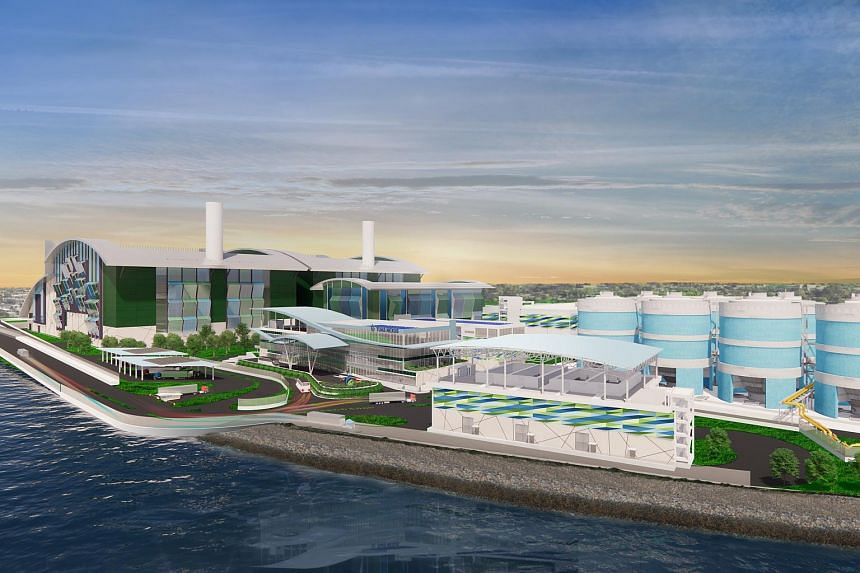 Tuas Nexus, Singapore's first integrated water and solid waste treatment facility in Tuas, will be ready from 2025.
