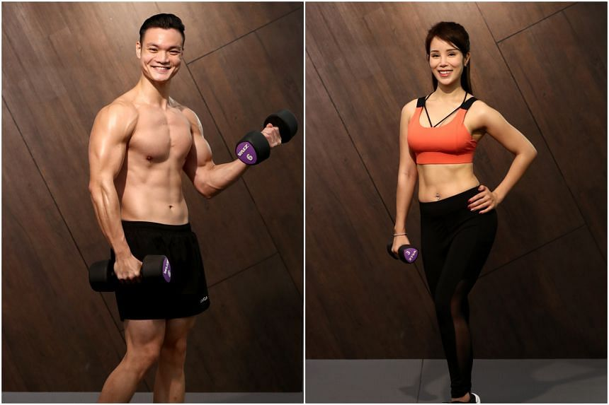 Mr Kerry Tran (left) and Ms Vanessa Tang.