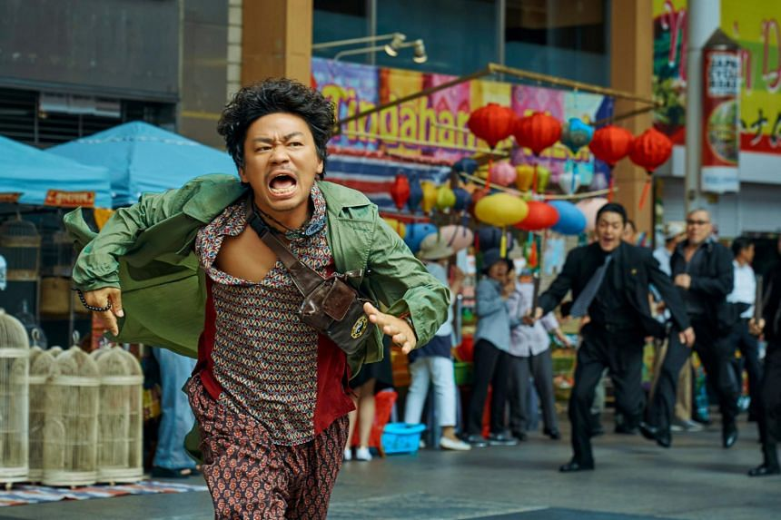 Detective Chinatown 3 took in 2.8 billion yuan within three days of its release over the weekend.