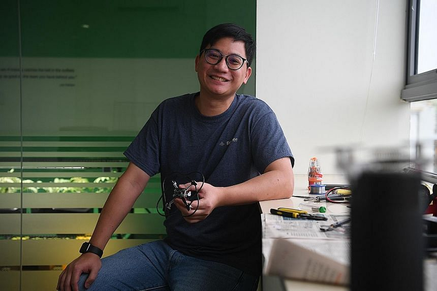 Mr Cheng Yi Chiao, 37, enrolled in a programme that develops deep tech talent in the fast-growing robotics and automation sector, and allows individuals to make a mid-career switch to the deep tech scene.