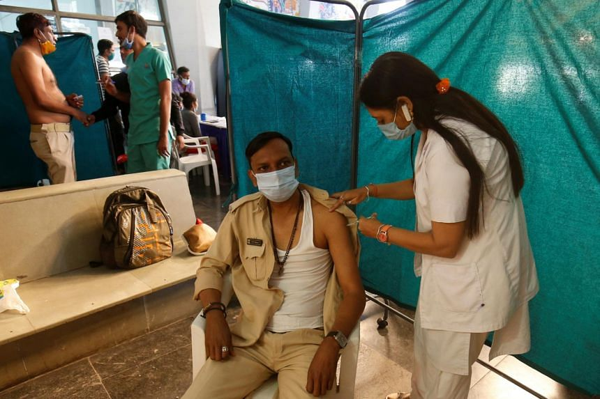 India says it has been the fastest to reach many inoculation milestones.