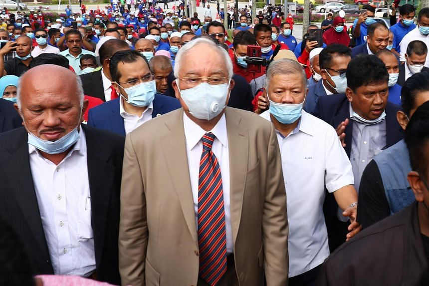 Najib Razak is currently being tried for four criminal charges in bribery.