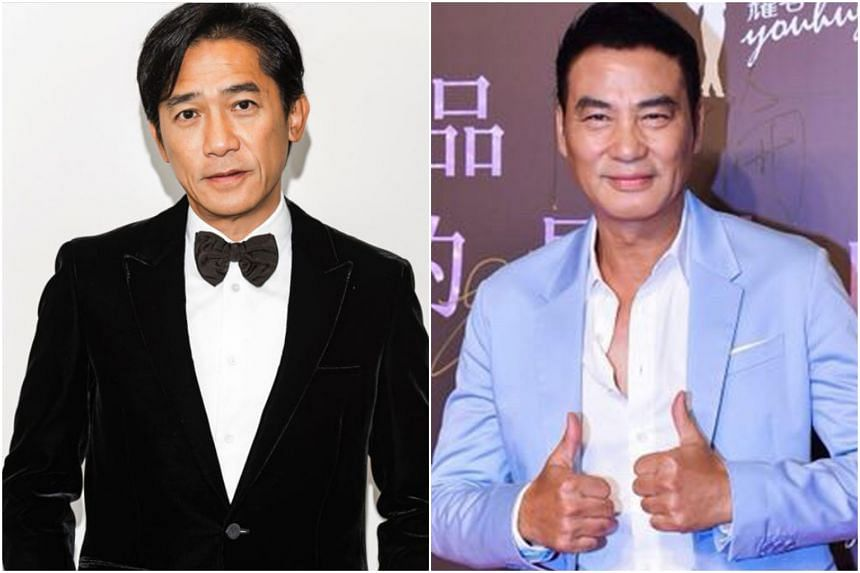 Tony Leung Chiu Wai (left) and Simon Yam will face off against each other for the first time since their brief screen encounter in Bullet In The Head (1990).
