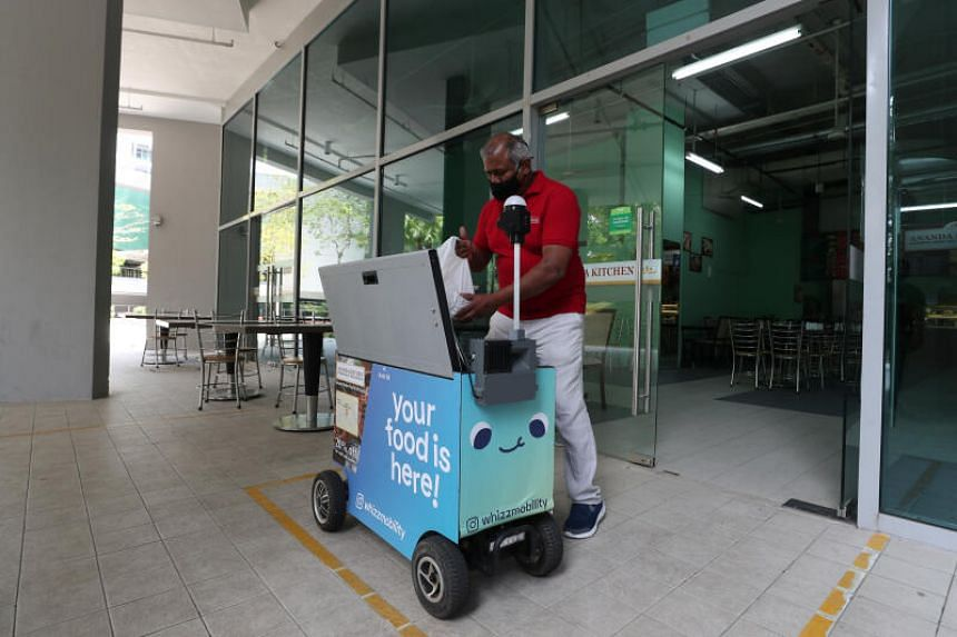 The start-up receives about 70 food orders a day, up from eight a day last August.