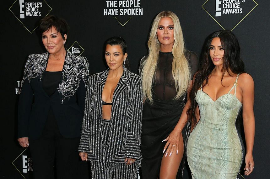 Keeping Up With The Kardashians (2007 to present) - starring (above from left) Kris Jenner and Kourtney, Khloe and Kim Kardashian.