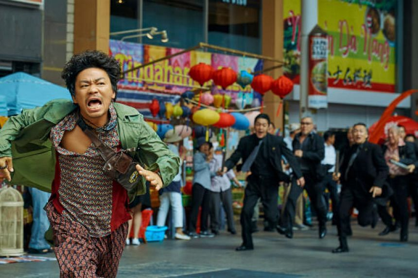 Detective Chinatown 3 broke the total pre-sale record for both first-day and single-day box offices in China's film market.