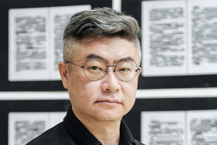 Conceptual artist Heman Chong