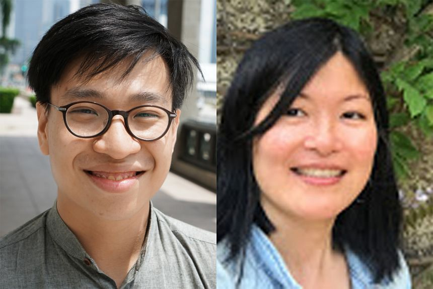 Daryl Lim Wei Jie and Jennifer Wong