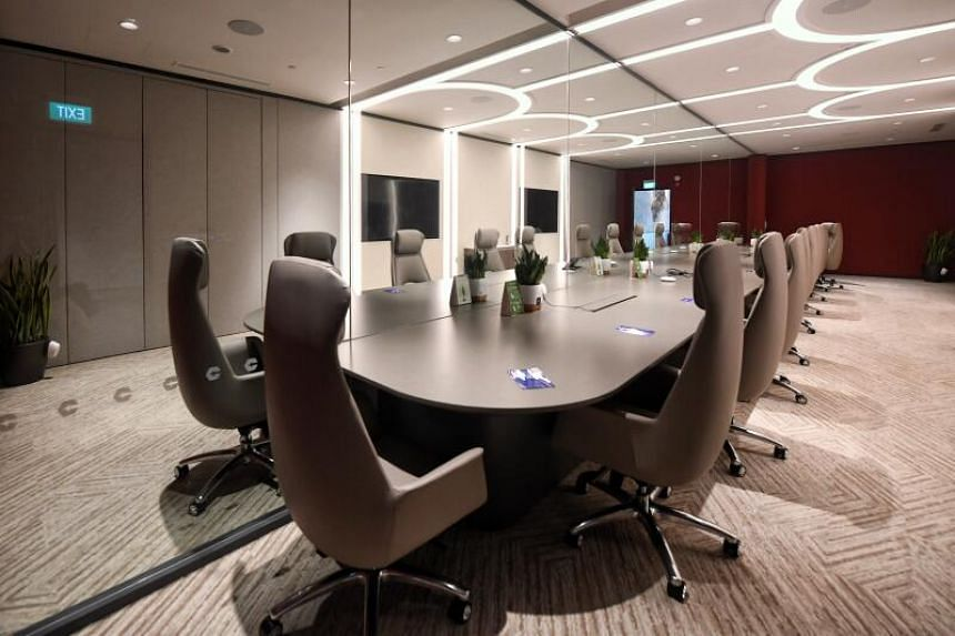 Connect@Changi, which has 40 meeting rooms of different sizes, has been billed as the first of its kind in the world.