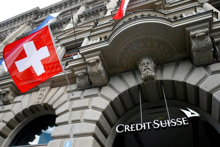Credit Suisse posted a 353 million Swiss franc net loss for the fourth quarter of the year.