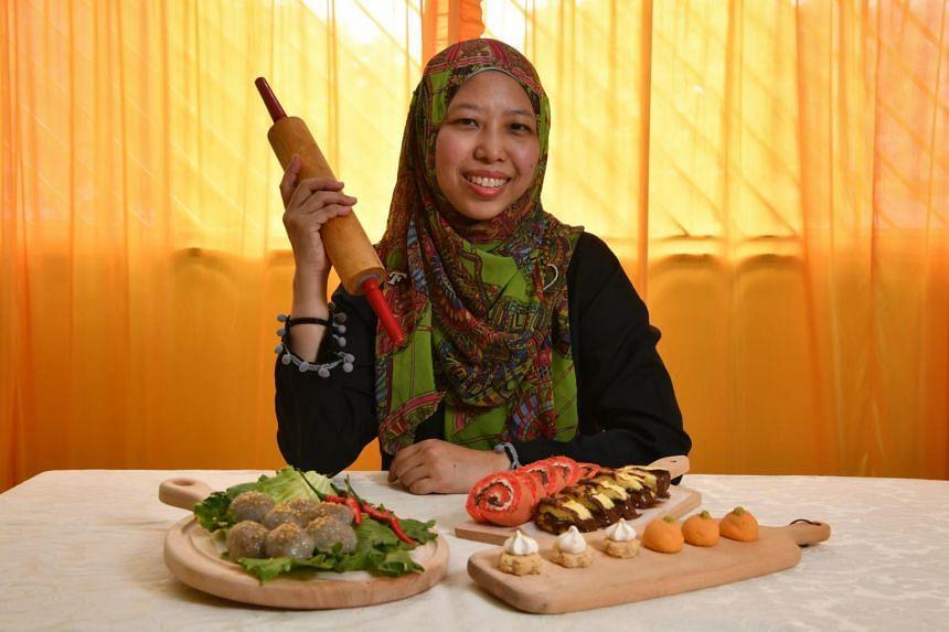 Besides baking desserts, Juliana Ramli has ventured into savouries, debuting chicken-filled Thai dumplings last year.