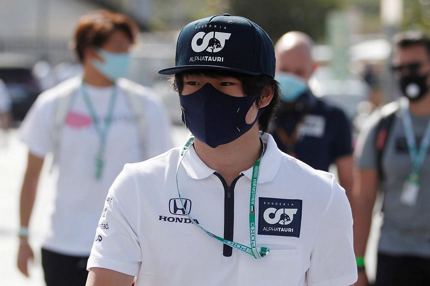 The 20-year-old is the first Japanese driver to compete in Formula One since Kamui Kobayashi in 2014.