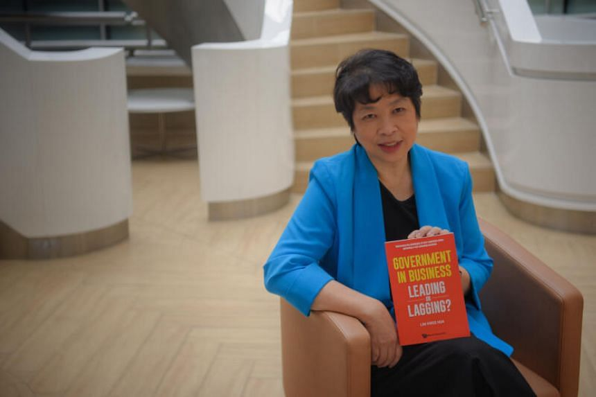 The latest feather in Mrs Lim Hwee Hua's cap is a book titled Government in Business: Leading or Lagging?