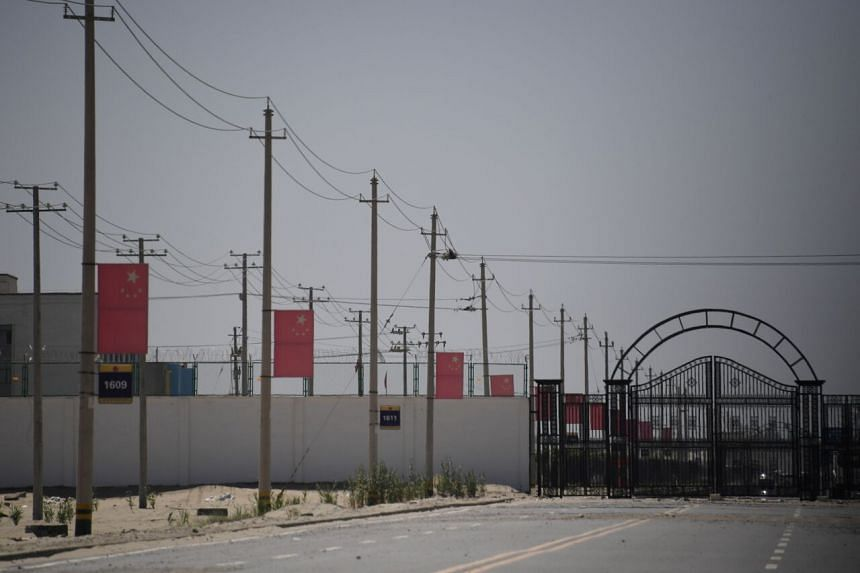 A UN panel said in 2018 that it had received credible reports that at least 1 million Muslims had been detained in camps in Xinjiang.