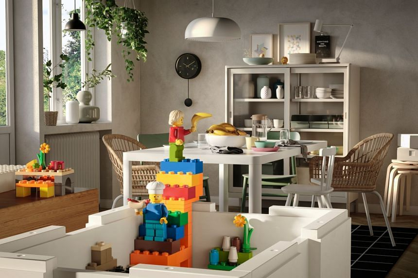 Ikea has collaborated with Lego to release its Bygglek playboxes, which contain 201 pieces of Lego items that are exclusive to Ikea stores.
