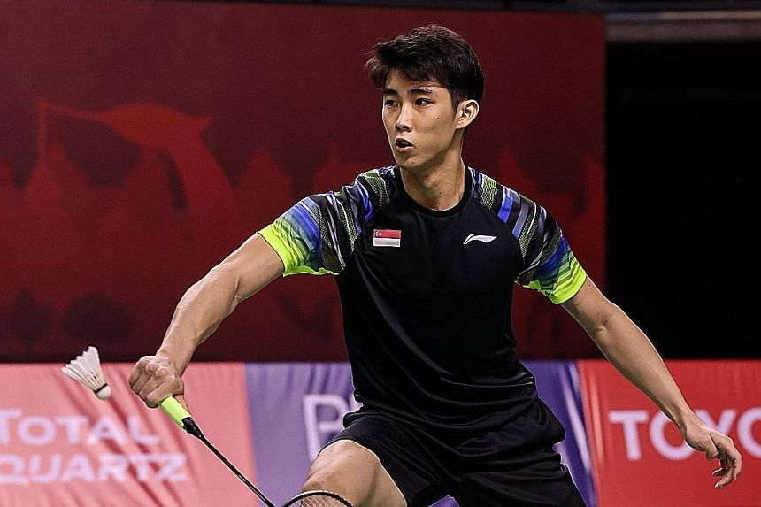 Singapore's top shuttler Loh Kean Yew is 16th in the Race To Tokyo rankings, with the top 38 qualifying. Despite his comfortable position, the 2019 SEA Games silver medallist is taking nothing for granted.
