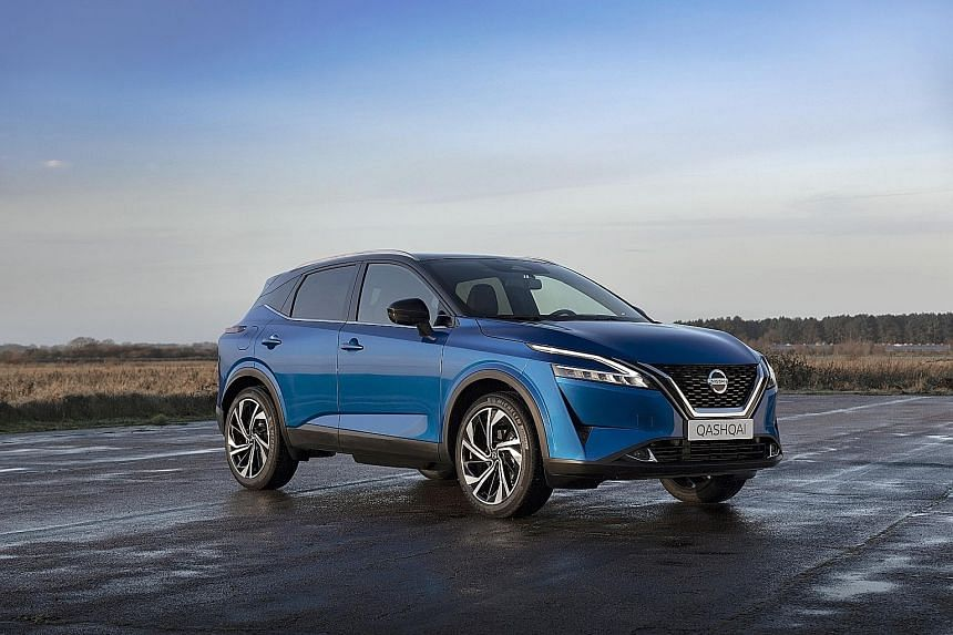 Nissan has unveiled its third generation Qashqai crossover.