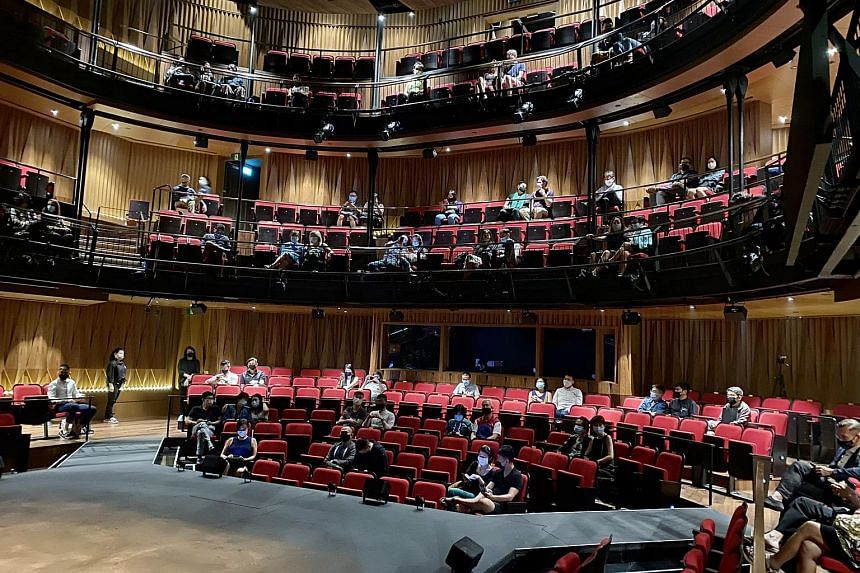 Although theatres are now open, shows are still being staged at a loss because safe distancing measures.