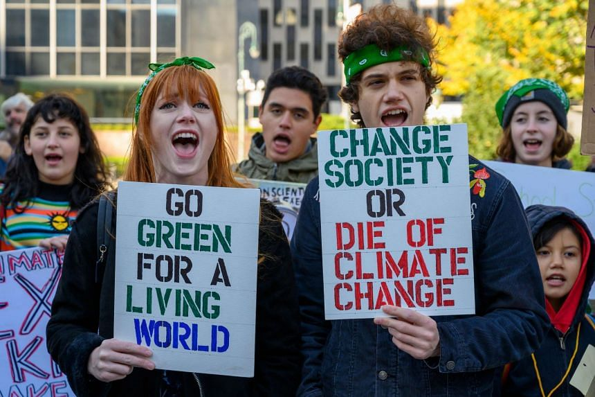 US President Joe Biden has vowed to make the fight against global warming a top priority.