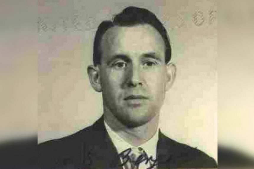 A1959 image released by the US Department of Justice shows Friedrich Karl Berger.