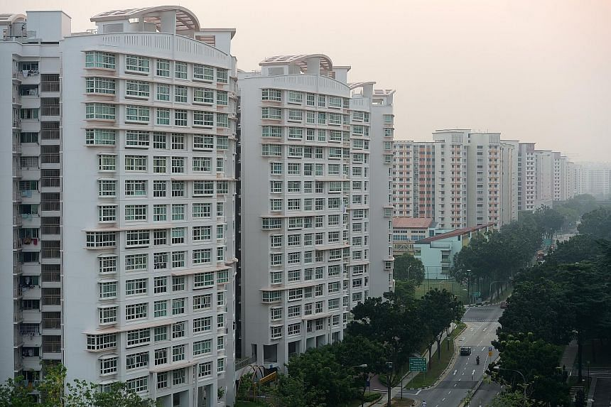 Non-mature estates dominated the most popular housing estates' top rankings last year, making up seven of the top 10 hot spots, with Sengkang (above) and Punggol in the lead. The extensive masterplan to turn Punggol into the next digital district als