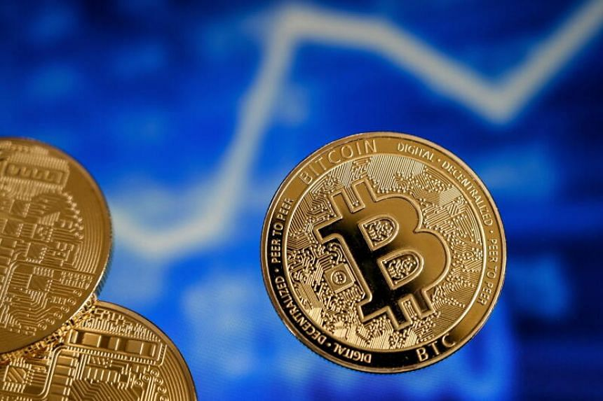Bitcoin rose to a record US$57,553, on Feb 20, 2021.
