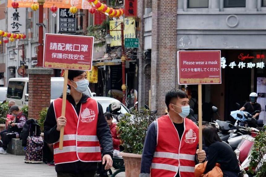 Taiwan's government said that all arrivals from that country would undergo centralised quarantine from this week.